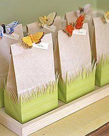 "See the ""Butterfly Favor Bags"" in our Kids' Party Favors gallery - Party Ideas Party Bags, Birthday Party Favors, Birthday Parties, Diy Birthday, Birthday Ideas, Birthday Presents, Birthday Decorations, Easter Presents, Spring Decorations"