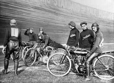 Indian motorcycle Board racers 1920's