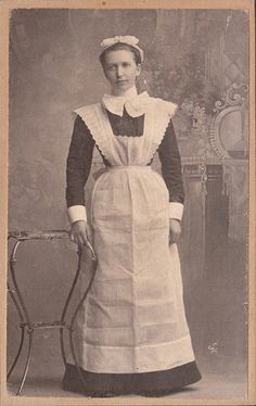 Edwardian Maid by Prometheus2011, via Flickr