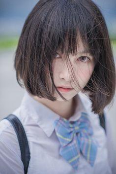 美しすぎる謎の人物「池田七帆」さんは男性レイヤーとのうわさが飛び交う→実は女性だったことが判明 - Togetterまとめ Cute Asian Girls, Cute Girls, 3 4 Face, Chica Fantasy, Poses References, Hair Reference, Japan Girl, Girl Short Hair, Kawaii Girl