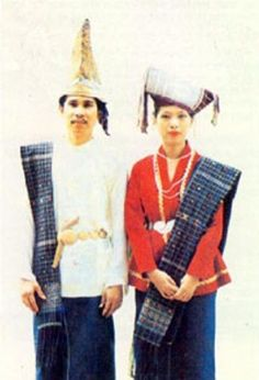 Wedding dress from Batak Simalungun - North Sumatra