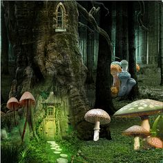 Alice in Wonderland:The room with the small door Exterior Paint, Exterior Design, Childhood Stories, Small Doors, Were All Mad Here, Plant Wall, Alice In Wonderland, Garden Sculpture, Fairy Tales