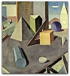 Composição (1942) Milton da Costa (pintor, desenhista, gravador, ilustrador brasileiro)  http://sergiozeiger.tumblr.com/post/100238124468/milton-dacosta   Em obras como Composição (1942), a superfície da tela apresenta definidos planos de cor e um espaço enigmático, ambos fundamentais em seu desenvolvimento construtivo posterior.