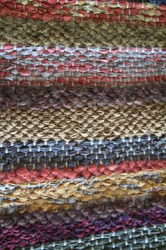 Mixed weave mohair and cotton