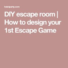 How to design your escape room game. Breakout Edu, Breakout Boxes, Mutual Activities, Party Activities, Escape The Classroom, Classroom Ideas, Escape Room Diy, Escape The Night, Escape Room Puzzles