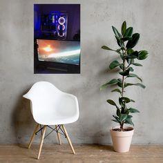 Night Galaxy Custom PC Poster - 24×36