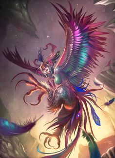 """A Harpy was one of the winged spirits best known for constantly stealing all food from Phineus. The literal meaning of the word seems to be """"that which snatches"""" as it comes from the Greek word harpazein (ἁρπάζειν), which means """"to snatch""""."""