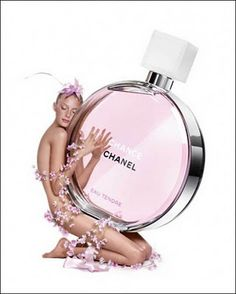 Perfume advertising Inspiration from blossomgraphicdesign.com