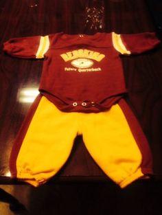 ffaad438be6 washington redskins infant football jersey and pants set - burgundy gold