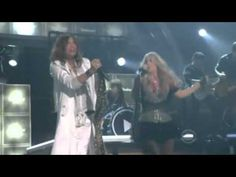 Carrie Underwood and Steven Tyler.... Undo It.  No words for this one, just watch.  :-)