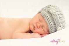sweet newborn pose