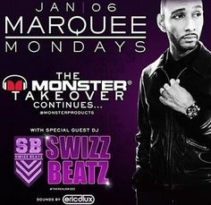 The Monster Takeover continues with Swizz Beatz tomorrow night at Marquee Las Vegas! #MonsterCES #CES2014