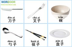 Wordoor Chinese - Tablewear