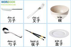 Wordoor Chinese - Tablewear