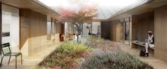 Gallery - CREO ARKITEKTER and WE architecture Shares First Prize for Danish Psychiatric Hospital - 6