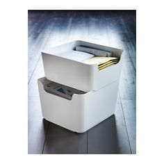 PLUGGIS Recycling bin - 271 oz - IKEA. These might be nice for my craft space. Not sure yet though.