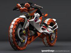 電動二輪駆動バイク - IDLOG