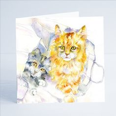 Excited to share the latest addition to my #etsy shop: Cat out the Bag Greeting Card - Birthday Card for Girls, Birthday Celebrations https://etsy.me/2E1Ojkw #art #baptism #greetingcard #birthdaycard #card #cards #artcard #luxurycard #professionalartist