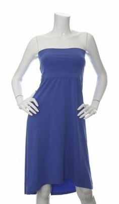 Splendid Hi-Low Dress Tube Convertable Skirt Periwinkle Blue L NWT