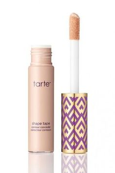 """Two different concealers I'd recommend for wedding-day wear are the tarte tape concealer, which gives really good coverage, without being too heavy, and the MAC Studio Finish concealer for spot treatment. However, try your best not to spot-conceal at all,"" makeup artist, Julia Salvia advises ""because it actually makes makeup application look heavier."" Check out more of our favorite wedding makeup products!"