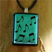 Image result for fused glass music