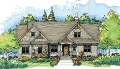 Home Plan The Thistlewood by Donald A. Gardner Architects
