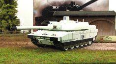 1:72 AMX-56 Leclerc model byFABBRI  World Military Machines