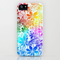 Flying Through Rainbows iPhone Case