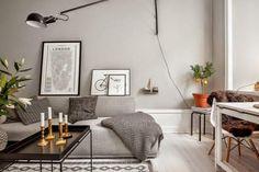 Amerikai konyhás nappali  fürdőszoba és egy külön hálórész 38 négyzetméteren  ahol szakítottak a jól megszokott fehér...