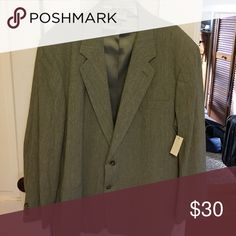 Men's Tan Blazer Men's Tan Blazer - Never Worn - With Tags Claiborne Suits & Blazers Sport Coats & Blazers