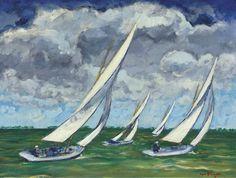 Kees van Dongen, The Regatta, c. 1930 on ArtStack #kees-van-dongen #art