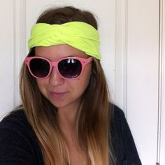 No sew turban headband - I used a child's medium t-shirt and that fits my 2yo and 4yo heads perfectly. I would imagine you need an adult sized tshirt for adult heads.