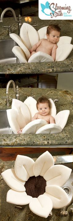The new Blooming Bath Baby Bath is now available in Ivory.  The perfect baby shower gift when you don't know if it is a boy or girl. $39.99