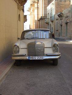 Old mercedes in Gozo