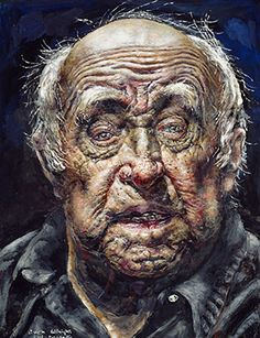 Ivan Albright. Self-Portrait (No.13), 1982.