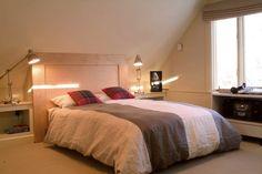 Contemporary Attic Master Bedroom Ideas