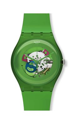 GREEN LACQUERED 2012 spring/summer Originals New Gent -New Gent Lacquered Collection * Swatch ^* Watch