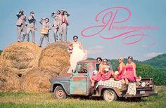 Country wedding photo idea. BY: Impulse Photography