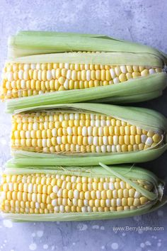 Juicy crunchy perfect air fryer corn on the cob recipe. Easy and ready under 10 minutes! I promise, this will become your go to recipe for a sweet side dish corn for your air fryer.