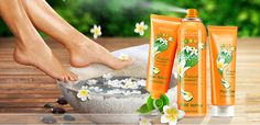 Oriflame Feet Up - summer 2012. Limited Edition footcare products.