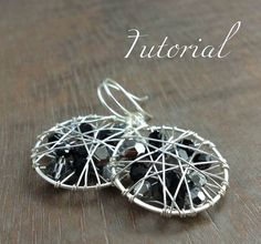 TUTORIAL Kaleidoscope Earrings por HeidiLeeDesign en Etsy