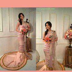 Myanmar wedding dress