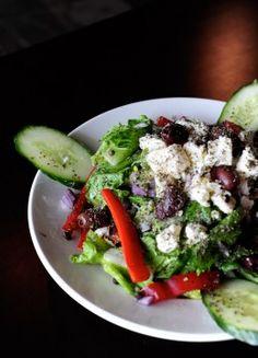 Farm Fresh Greek Salad #food #eatables #healthy #recipe