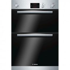Bosch Serie 6 Built-in Double Oven brushed steel HBM13B151B