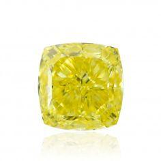 Diamond of the Week - Buying Diamonds Online Best Diamond, Diamond Cuts, Diamond Dealers, Yellow Cushions, Cushion Cut Diamonds, Colored Diamonds, Wine Glass, Fancy, Engagement Rings