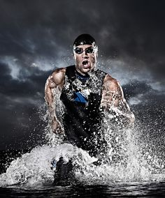 Xterra Wetsuits. Photography by Tim Tadder,  Grooming: Kimberly A Carlson