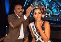 Steve Harvey Does TV Show with Miss Philippines and Miss Colombia, Admits Being Traumatized by Error - http://www.radiofacts.com/steve-harvey-tv-show-philippines-colombia-admits-traumatized-error/