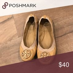 Tory Burch Patent Leather Caroline Flats Tory Burch Patent Leather Caroline Flats in camellia pink. Tory Burch Shoes Flats & Loafers