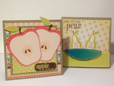 Cards made with Cricut Imagine Kate's Kitchen