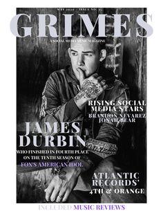 "American Idol finalist ""James Durbin"", takes the cover! Also Atlantic Records' Artist - & Orange. Muscle Gain Supplements, James Durbin, American Idol Finalists, Samurai Wallpaper, Best Baby Bottles, Music Charts, Capitol Records, Social Media Stars, Atlantic Records"